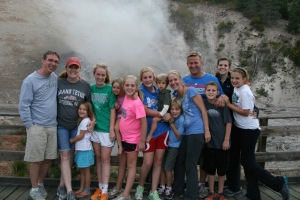 National Parks with my family! Great memories.