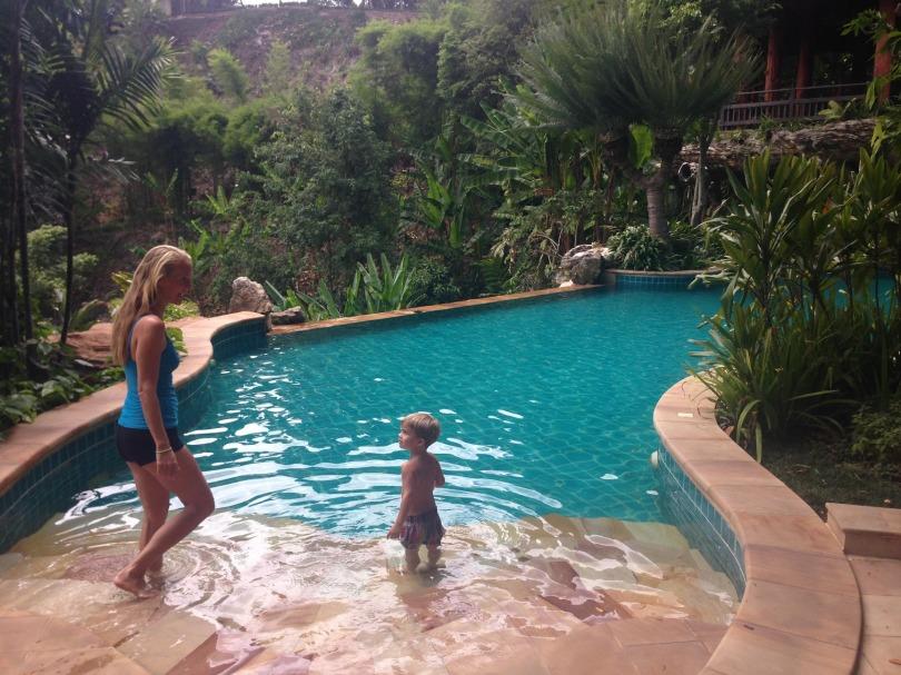 beautiful pool with malachi.jpg