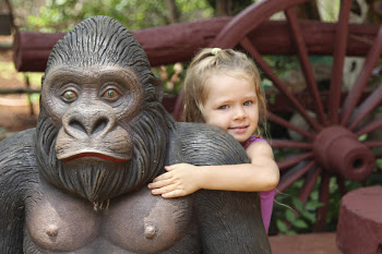 brooke with gorilla