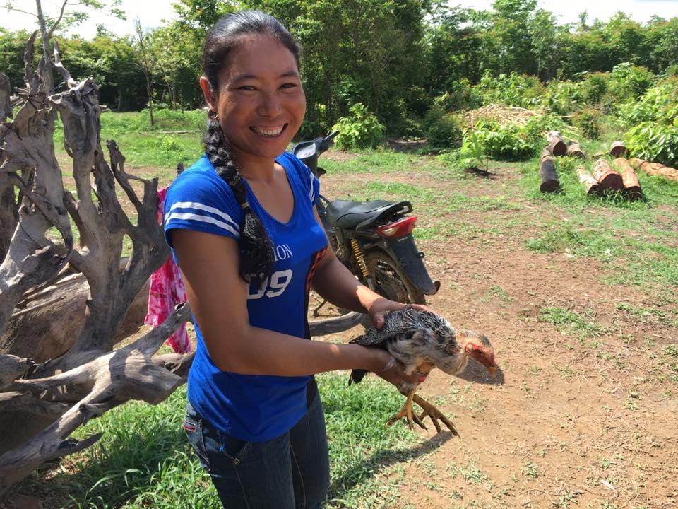 Puon with chicken