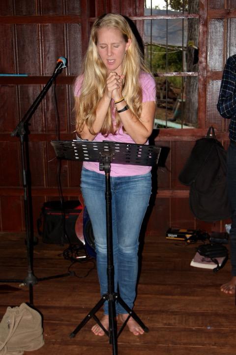 Ann praying