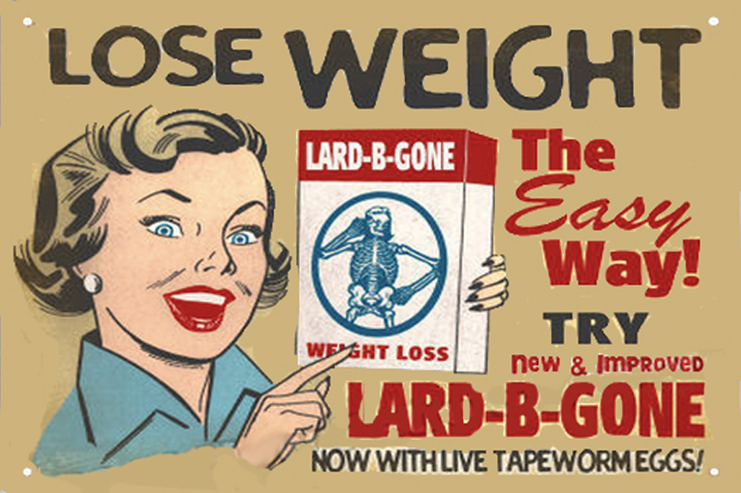 lose weight tapeworms